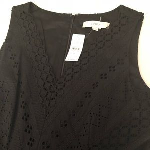 NWT Loft Little Black Dress