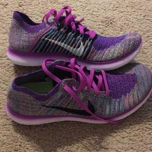 Nike free running sneakers size 9.5