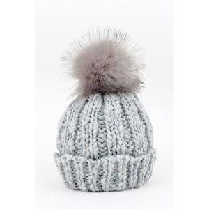 Pom Hat-Grey