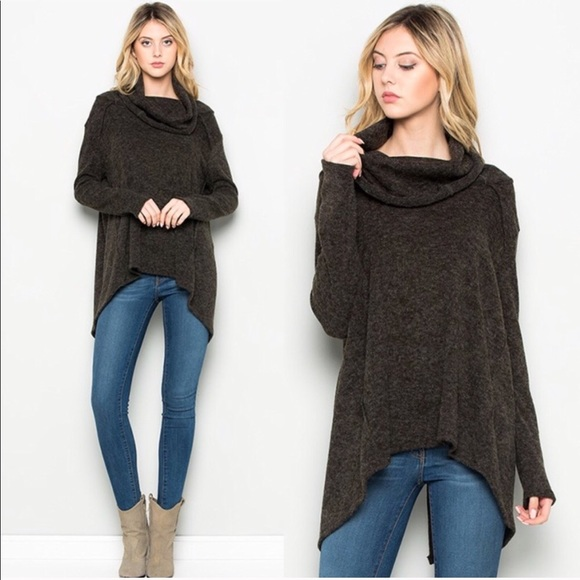 39% off Sweaters - Comfy Cowl Neck Sweater from Lesley's closet on ...