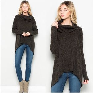 Sweaters - Comfy Cowl Neck Sweater