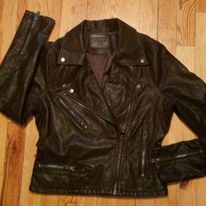 Blanknyc Black Vegan Leather Moto Jacket
