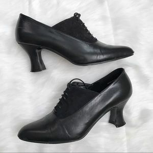 Amanda Smith 90's does 50's Lace up Booties