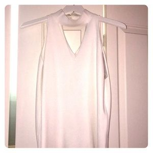 Milly sleeveless with choker neck size small