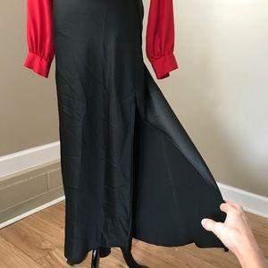 NWT Forever 21 High Slit Black Maxi Skirt
