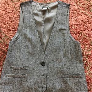 JCREW!! Herringbone Vest!! ❄️❄️