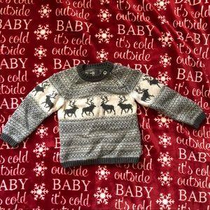 Baby Christmas sweater!