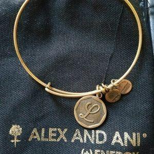 Alex and Ani L bracelet