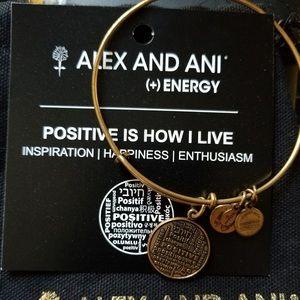 Alex and Ani Positivity Bracelet