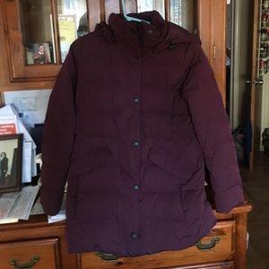 Lands end long winter jacket