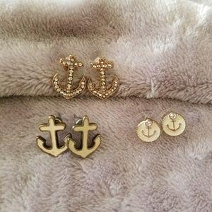 """""""All Aboard"""" earring bundle"""