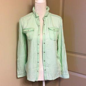 Super cute mint green Tucker & Tate shirt