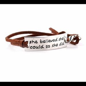 Women's Inspiration Engagement Bracelet
