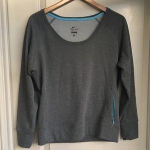 Nike Dri-Fit Scoop Neck Sweatshirt