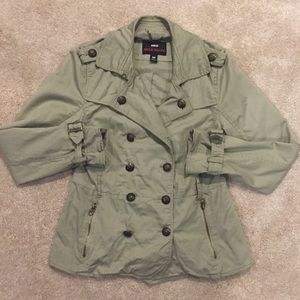 Miss Sixty Double Breasted Trench Coat