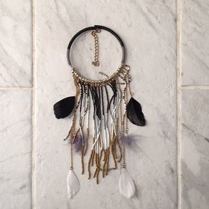 """Dream Catcher"" Choker Necklace"