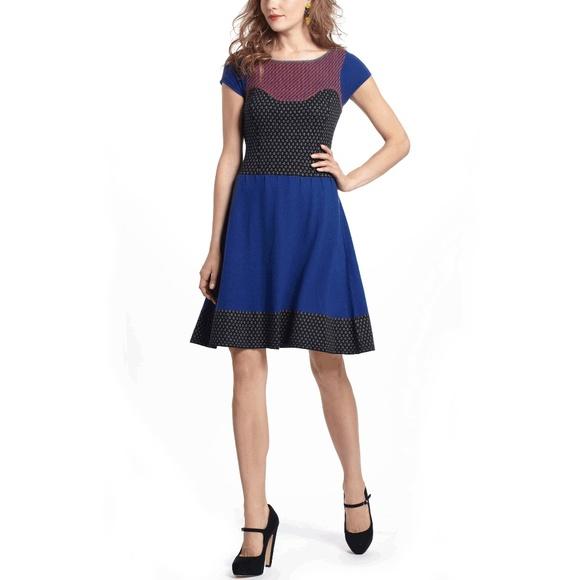 Anthropologie Dresses & Skirts - Intarsia Dress