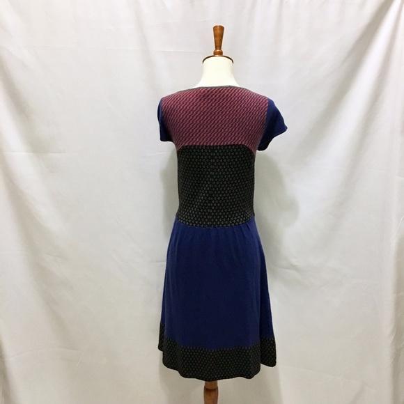 Anthropologie Dresses - Anthropologie Intarsia Dress