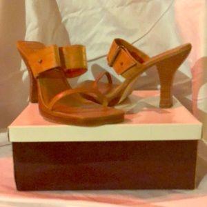 Mia natural leather sandles