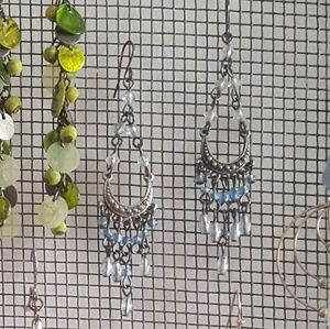 Jewelry - Beaded dangle earrings