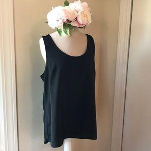 Long Black Dress Top