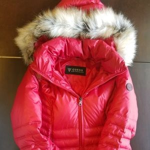 Guess down filled coat