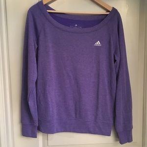 Purple Adidas Sweater