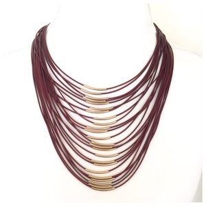 Beautiful Multi-Strand Statement Necklace