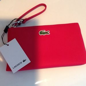 Lacoste Wristlet. Its's hot in hot pink💖💖💖