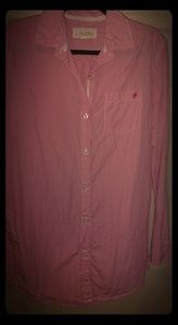 Aerie long sleeve button down S