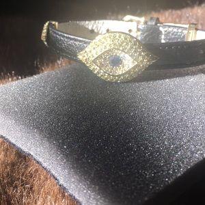 Joan Boyce leather bracelet