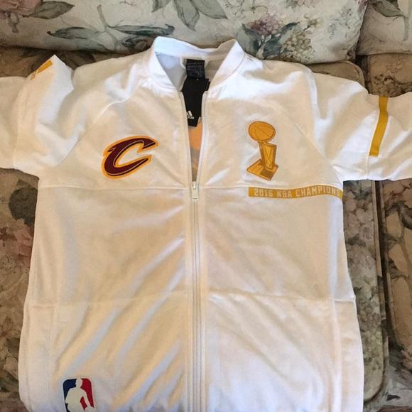 5e18f5a2deb7f2 adidas Jackets & Coats | Cleveland Cavaliers 2016 Nba Championship ...