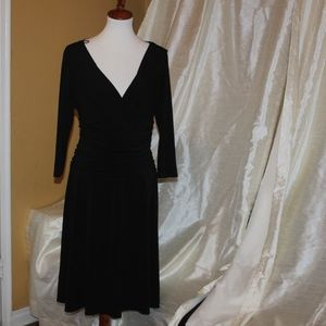 LBD NY & Co Flattering excellent condition Sz L
