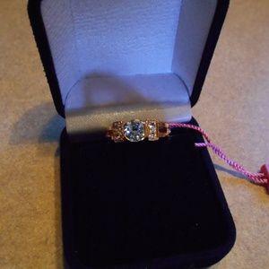 Gold tone Gemstone Quality Jewelry Ring