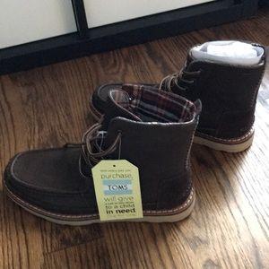 a712094b949 TOMS Searcher Boot Chocolate Brown Men's 7 new NIB NWT