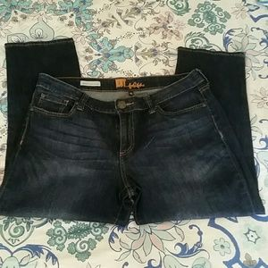 Barely worn KUT jeans