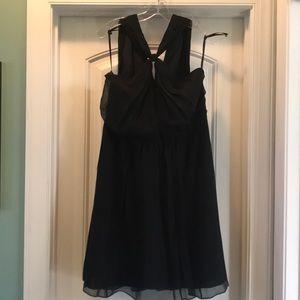Ann Taylor semi formal black dress NWT