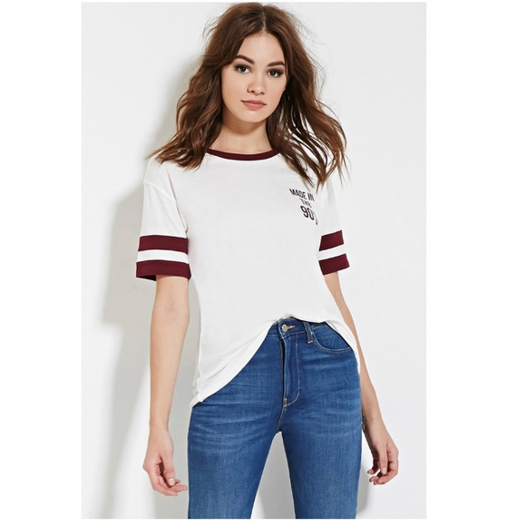 9a70661f7 Forever 21 Tops - Forever 21. Made in the 90's shirt