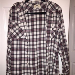 Tops - Oversized Flannel