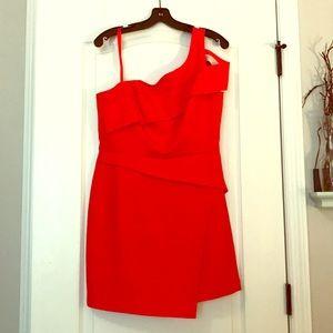 Poppy BCBG off the shoulder dress