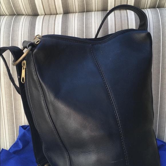 5a4697bff49 Hobo International Handbags - Hobo International Black Leather Sling Bucket  Bag