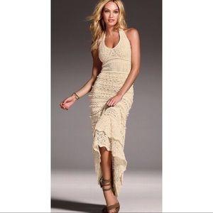 Victoria's Secret crochet maxi dress small