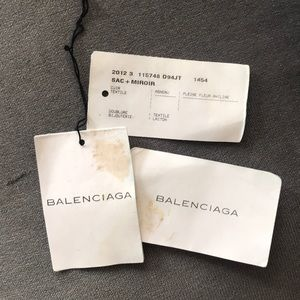 Balenciaga Bags - Balenciaga motorcycle bag