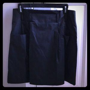 Lightweight black skirt