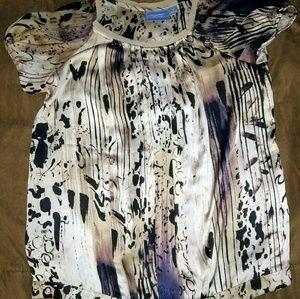Woman's short sleeve top