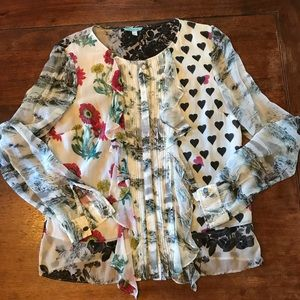 Anthropologie blouse by Leifnotes