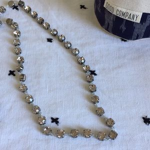 J Crew rhinestone necklace