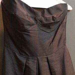 Dark Brown Strapless Boob Dress