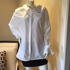NWT - Zara Trafaluc Collection White Button Down