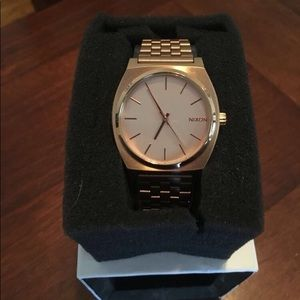 Nixon Rose Gold Watch